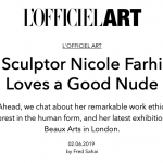 L'OFFICIEL ART, February 2019