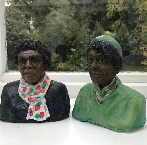 Audre Lorde [1934-1992]  and her life partner Dr Gloria Joseph    Audre Lorde [1934-1992] was an American writer , civil rights activist and the last year of her life was NY State poet laureate . She was an influential voice in the Black Arts movement. Gloria Joseph [1928-2019] born in the Caribbean, was the voice of proactive feminist thoughts of African/American women. She and Audre Lorde through their writings and campaigning fought together on issues of race , gender and sexuality.    [photo Galia_sherf]
